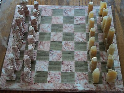 Authenitc Mexican Marble Chess Board Boys & Girls