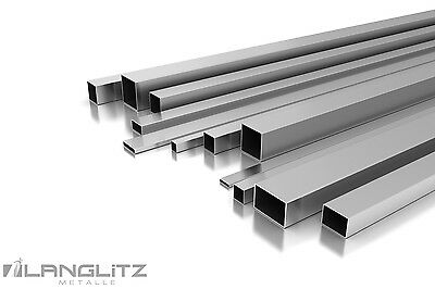 Stainless Steel Ground Square Tubing Profile Pipe Quadratrohrv2a Nach Mass