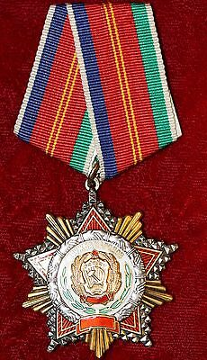 RARE AUTHENTIC RUSSIAN ORDER OF FRIENDSHIP OF PEOPLES RSFSR