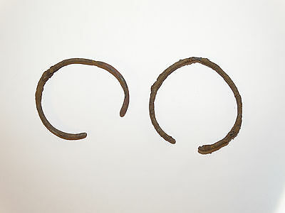 Perfect  Iron Migration Period Bracelets.  The Nomads.Hunnu.  ca 3-6 AD.