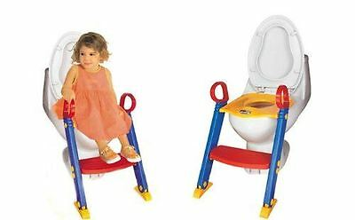 Baby Toddler Potty Training Toilet Seat & Step Ladder New Loo Trainer System
