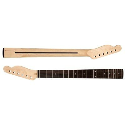 Electric Guitar Neck For TL Parts Replacement 22 Fret Maple Rosewood Fretboard