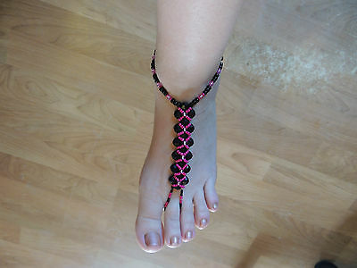 HAND MADE BAREFOOT SANDAL- FOOT THONGS