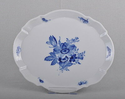 Meissen Blue Flowers & Insects, Tray / Plate, First Choice