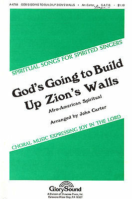 God's Going to Build Up Zion's Walls; Afro-American Spiritual; A-6788
