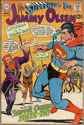 Superman's Pal, Jimmy Olsen #118 - G/VG