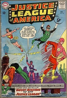 Justice League Of America #24 - G/VG