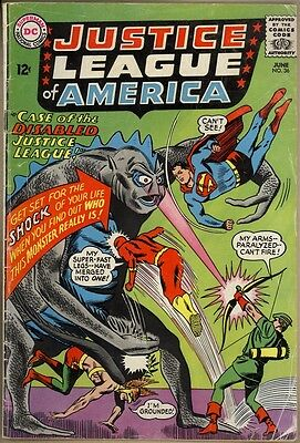 Justice League Of America #36 - G+