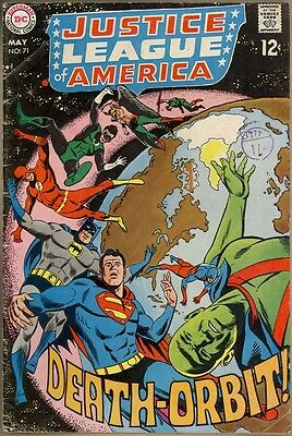 Justice League Of America #71 - G/VG