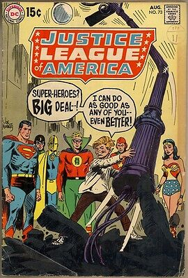 Justice League Of America #73 - G/VG
