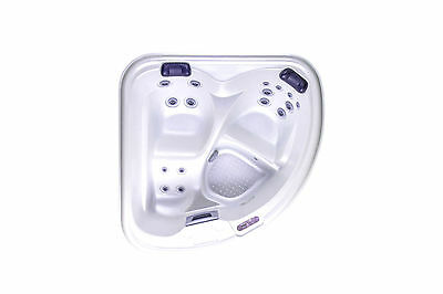 Fisher 2 person Portable HotTub Jacuzzi Indoor Outdoor Hydrotherapy Spa Plug n P