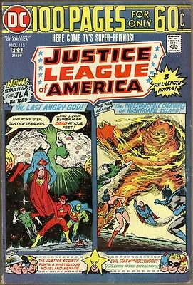 Justice League Of America #115 - FN-