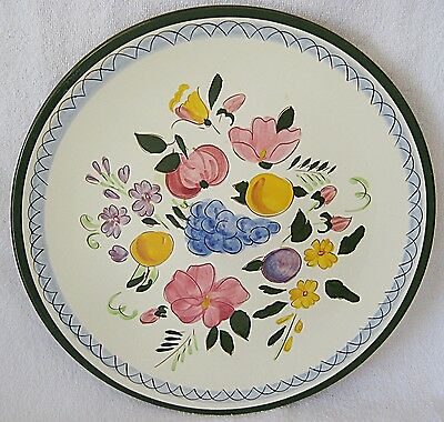 STANGL FRUIT AND FLOWERS 12 INCH CHOP PLATE