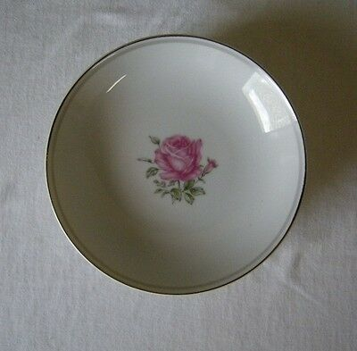 Fine China of Japan Imperial Rose 4 Fruit Bowls #6702