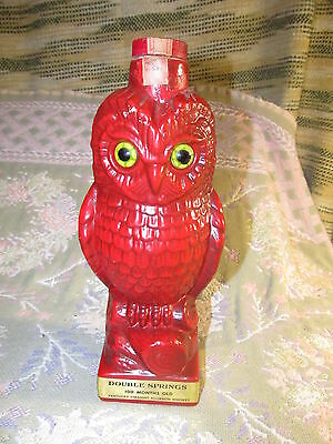 Double Springs Red Owl (1968) Decanter
