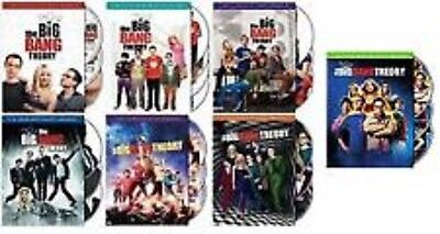 The Big Bang Theory Complete Seasons 1-7 1,2,3,4,5,6,7 NEW - FREE 2DAY PRIORITY