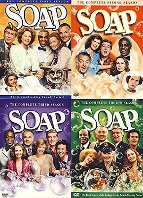SOAP: COMPLETE SEASONS 1 2 3 4 SERIES ONE TWO THREE FOUR - NEW!!