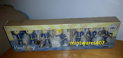 Fallout 3 Vault Boy 101 Bobblehead Series One 7 Pack NEW ☆ RARE 2014 ☆