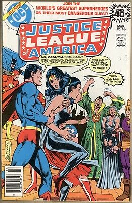 Justice League Of America #164 - FN-