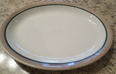 "VINTAGE/ SYRACUSE CHINA PLATTER-Small-10""X 8""/RESTAURANT WARE"
