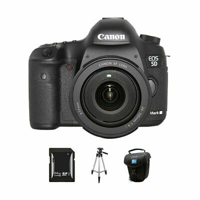 Canon EOS 5D Mark III DSLR Camera w/24-105mm Lens 64GB Kit