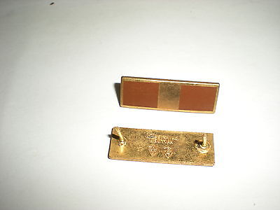 US ARMY 1950'S WARRANT OFFICER 1 INSIGNIA - CLUTCHBACK