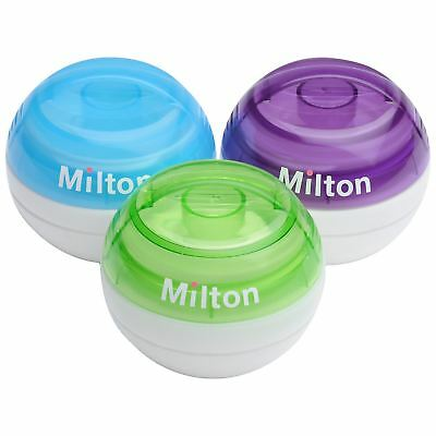 Milton Mini Portable Soother Steriliser & Tablets | All Colours Available