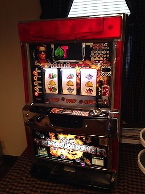The Terminator IGT Slot Machine..fully Functional With Key And Coins!!!