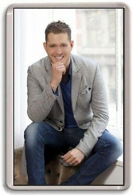 Michael Buble Fridge Magnet 01