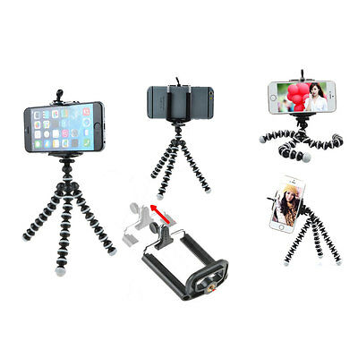 Mini Octopus Flexible Tripod Stand for iPhone Samsung HTC Camera Smart Phone
