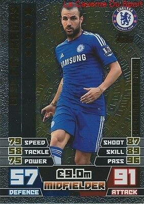 Le1 Cesc Fabregas # Chelsea.fc Limited Gold Edition Card Match Attax 2015 Topps