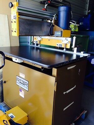 Ritter. R 23. Line Boring Machine W Electronics