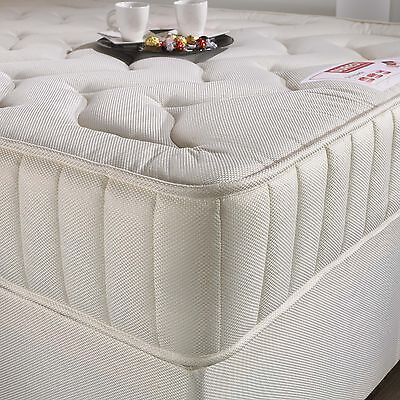 Brand New Value Quilted Orthopaedic Foam Sprung Mattress 3Ft 4Ft6 5Ft King Size