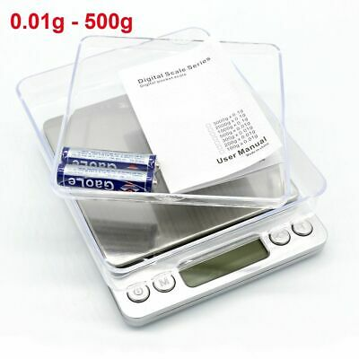 Precise Mini Digital Pocket Weighing 0.01g-200g Gold Jewellery Kitchen Scales UK