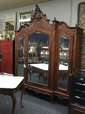 Exquisite  French Armoire Can Be Custom Painted To Any Color