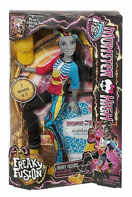 Monster High Freaky Fusion Neighthan Rot Doll High Ghouls Unicorn Zombie Boy Toy