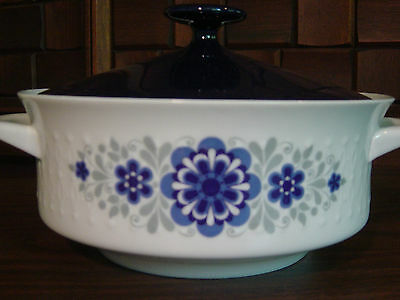 Covered Casserole Vegetable Dish by Mitterteich China Bavaria Germany Mit 102