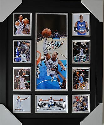Dwight Howard Signed And Framed Limited Edition