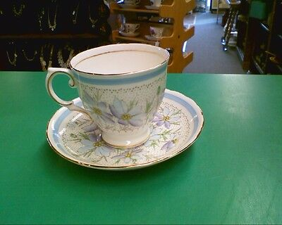 Tea Cup Saucer Tuscan Fine English Bone China Made in England