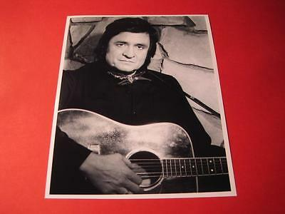 JOHNNY CASH  10x8 inch lab-printed glossy photo P/1775