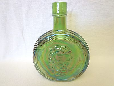 Wheaton First Edition Carnival Glass Presidental Bottle Andrew Jackson