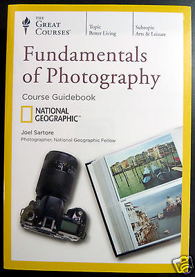 Fundamentals of Photography 4 DVDs, The Great Courses, + Transcript Book! New !