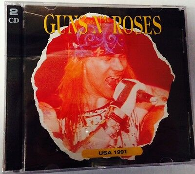 GUNS N' ROSES - USA 1991 - 2 CD LIVE USA  NO CDr RARO SEALED MINT