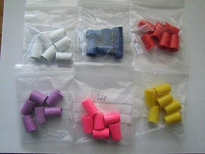 Coloured/Plain/Ringed Ferrules for Woods/Hybrids/Irons in Single or Packs