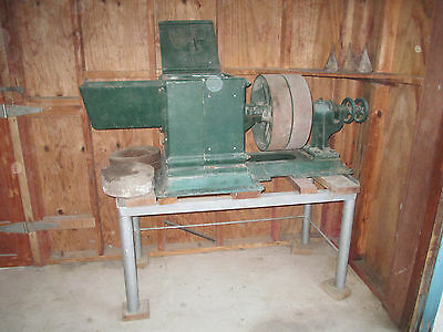 Cast Iron Corn Mill From The Early 1900s