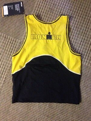 Triathlon Cycle Ironman Top. Ladies Large. Nwt