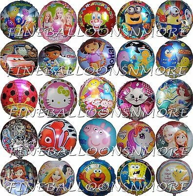 18inch THEMED BALLOON BIRTHDAY PARTY SUPPLIES GIFT DECORATION /LOLLY BAG FILLER