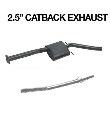 "2.5"" CatBack Sports Exhaust Commodore VT VX VY V6 Sedan Single"