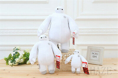 White Big Hero Robot Baymax Beast corps Soft Plush Toys Stuffed Dolls U006