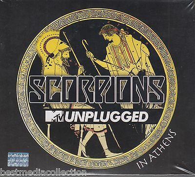DELUXE 2 CD's + 1 DVD Scorpions CD NEW MTV Unplugged In Athens USA Seller SEALED
